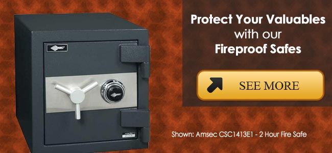 fireproof protection for your valuables