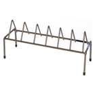 Handgun Rack - Coated Wire, Brown, 6 Pistols