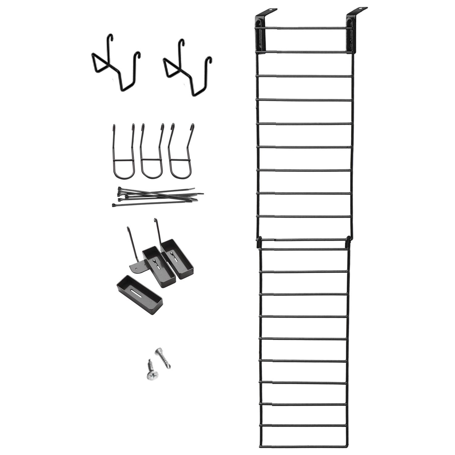 The Maximizer Narrow Gun Organizer - 3 Rifles, 2 Pistols