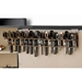 The Holster Gun Safe Rack - 15 Pistols, Brown - RCKM-6050