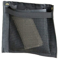 Gun Safe Rack Small Pouch - Nylon Mesh, Black