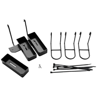 3 Piece Rifle Holder Set - Black