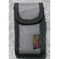 "4.5"" Multipurpose Canvas Clip Case - Soft Flannel Lining, Belt Clip"
