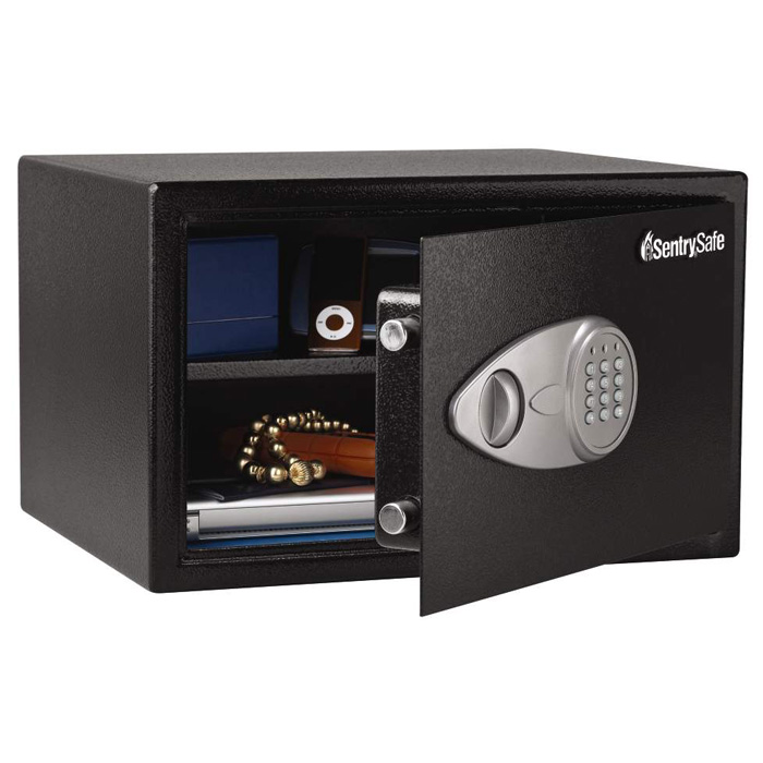 X125 Security Safe / Strong Box - Electronic Lock, Removable Shelf