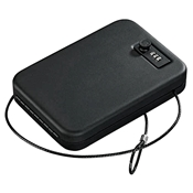 PC-95C Portable Security Case - Combination Lock, Steel Cable