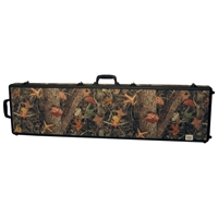 CamoLock Series Double Rifle Case - Rubber Wheels
