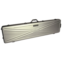 DiamondLock Series Double Rifle Case - Silver, Wheels