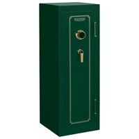 FS Series Green Fire Resistant Safe w/ Combination Lock - 14 Gun