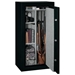 FS Series Black Fire Resistant Safe w/ Electronic Lock - 24 Gun - STO-FS-24-MB-E#