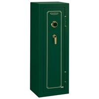 FS Series Green Fire Resistant Safe w/ Combination Lock -  8 Gun