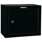Pistol Ammo Security Cabinet w/ 2 shelves - Black