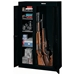 10-Gun Double Door Security Cabinet - Black - STO-GCDB-924-DS#