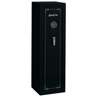Security Black 10-Gun Safe w/ Electronic Lock