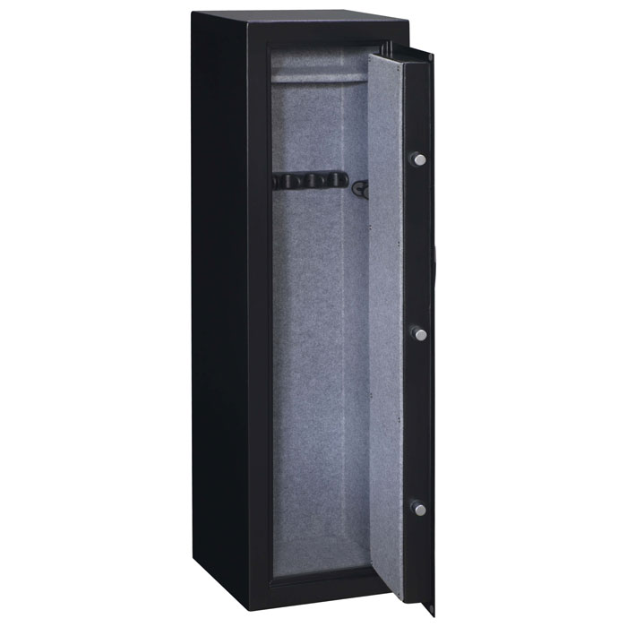 Security Black 10-Gun Safe w/ Electronic Lock - STO-SS-10-MB-E-DS#