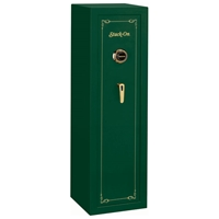 Security Green 10-Gun Safe w/ Combination Lock