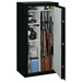 Security Safe w/ Combination Lock in Black - 22 Gun Capacity - STO-SS-22-MB-C#
