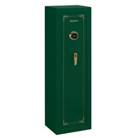 Security Green 8-Gun Safe w/ Combination Lock