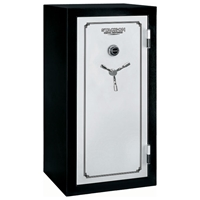 Total Defense Fire Resistant & Waterproof Safe w/ Door Storage - 28 Gun