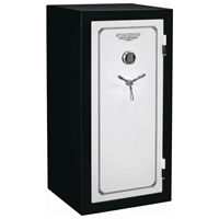 Total Defense Fire Resistant & Waterproof Safe w/ Electronic Lock - 28 Gun