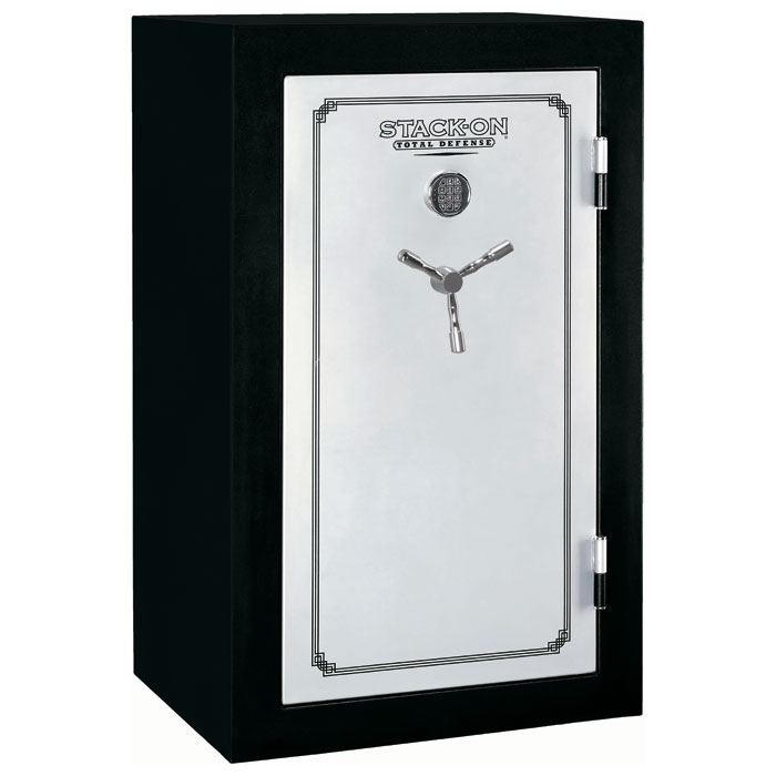 Total Defense Fire Resistant & Waterproof Safe w/ Electronic Lock - 36 Gun - STO-TD-36-SB-E-S-DS#