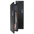 3842-SA Black Long Gun Case with Pushbutton Lock