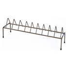Handgun Rack - Coated Wire, Brown, 9 Pistols