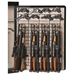 The Maximizer Full Door Gun Safe Organizer - 12 Rifles, 26 Pistols - RCKM-6057