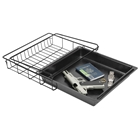 Under Shelf Vault / Gun Safe Drawer - Black Tray